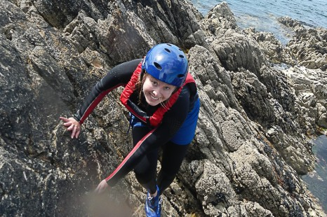 Coasteering in Ireland