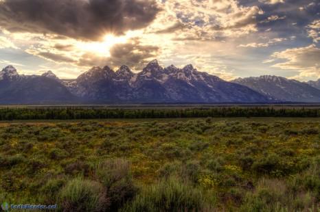 Scenic Drive from Ogden, UT to Grand Teton