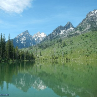 Kayaking in the Shadow of Grand Teton