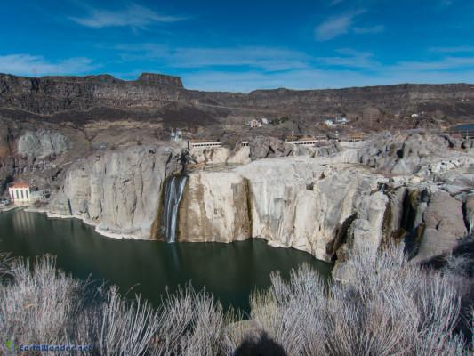 Shoshone Falls Dry